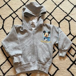 Disneyland Walt Disney World Resort Mickey Hoody